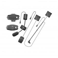 Kit audio + sistem de prindere compatibil Interphone Active si Connect.