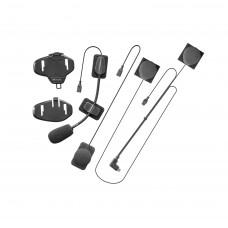 Kit audio + sistem de prindere compatibil Interphone TOUR/SPORT/LINK/URBAN/AVANT