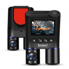 Camera Video Auto Duala Blueskysea B2W  2 x Sony IMX 307, WiFi, IR Night Vision, display 2""