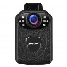 Camera video corporala Body Camera BOBLOV KJ21Pro , 2K, 4 mpx OV4689, telecomanda, touchscreen, autonomie 10h, nightvision, leduri IR