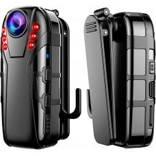 Camera video corporala Body Camera Boblov L02, rezolutie 1080P, nightvision, leduri IR, autonomie 4 ore