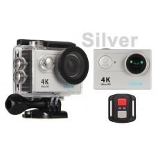 Eken H9R Silver 4k@25fps + Telecomanda