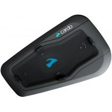 Sistem de comunicare moto Cardo Freecom 2 + Plus Single Pack, Conferinta de pana la 2 rideri simultan, distanta 500m