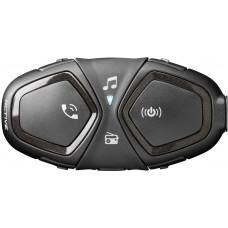 Sistem de comunicare moto Interphone Active Single Pack FM, Conferinta de pana la 4 rideri simultan, distanta 1Km