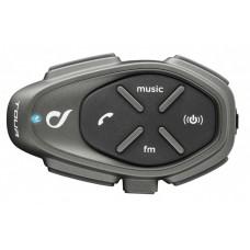 Sistem de comunicare moto Interphone Tour Single Pack, FM, Conferinta de pana la 4 rideri simultan, distanta 1,5Km