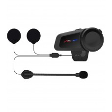 Sistem de comunicatie moto Maxto M2, FM Radio, Bluetooth 5.0, conferinta maxim 6 persoane, compatibil cu majoritatea sistemelor de pe piata