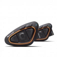 Sistem de comunicare moto Midland BTX1 PRO S Dual Pack, Dual Core, Conferinta de pana la 3 rideri simultan, distanta 800m
