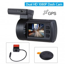 Mini 0906 Dual Camera, senzori Sony IMX291+Sony IMX322 , 1080P, GPS, Telecomanda Wireless, Super Capacitor