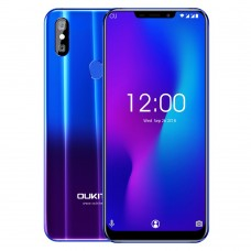 "Telefon Mobil OUKITEL U23 6.18""  6G RAM 64G ROM Wireless Charge Android 8.1 MTK6763T Helio P23 Octa Core Face ID"