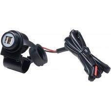 Priza moto Interphone cu port dublu USB