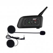 Sistem de comunicare moto EJEAS V6 Pro, model 2019, Bluetooth, 850 mah (autonomie mare de pana la 12 ore)