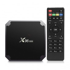 Mini PC Android TV Box X96 Mini + Telecomanda, Amlogic S905W Quad Core, Android 8.1 2GB DDR4 16GB eMMC 4K Netflix